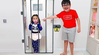 Valentina em Uma história engraçada para crianças sobre irmãos