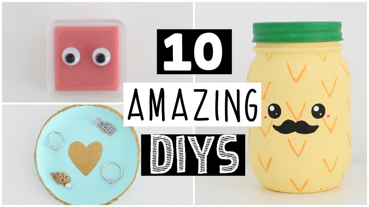 10 Amazing Most Popular Diys Anyone Can Make Youtube