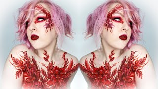 LADY IN RED | Makeup / Bodypaint