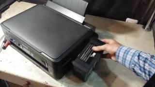 epson L222 Принтер не печатает или печатает с полосами Самостоятельное обслуживание и ремонт