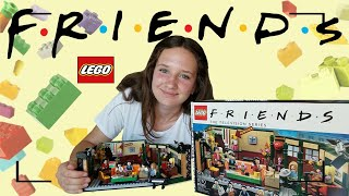 lEGO СЕРИАЛ FRIENDS - ОБЗОР набора 21319. / LEGO Friends Central Perk REVIEW and speed build