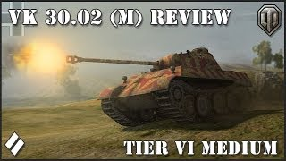 WoT: VK 30.02 (M) Panther - Tier VI Medium Tank Review!