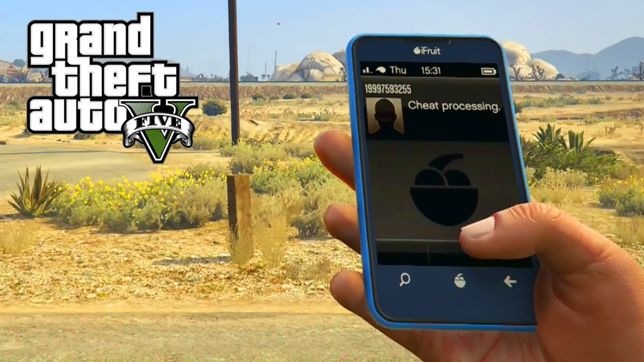 <b>GTA</b> 5 - Cell Phone <b>Cheat Codes</b> For PS4 &amp; Xbox One (<b>GTA V</b> Skyfall ...