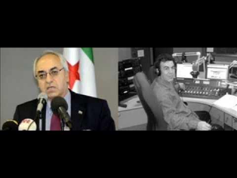 Mostafa Khalil's interview with Abdulbasit Seyda president of SNC on Radio 2000fm in 2012.