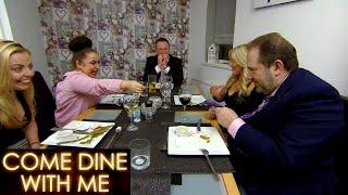 Giovanni's Magic Trick Impresses Everyone! | Come Dine With Me