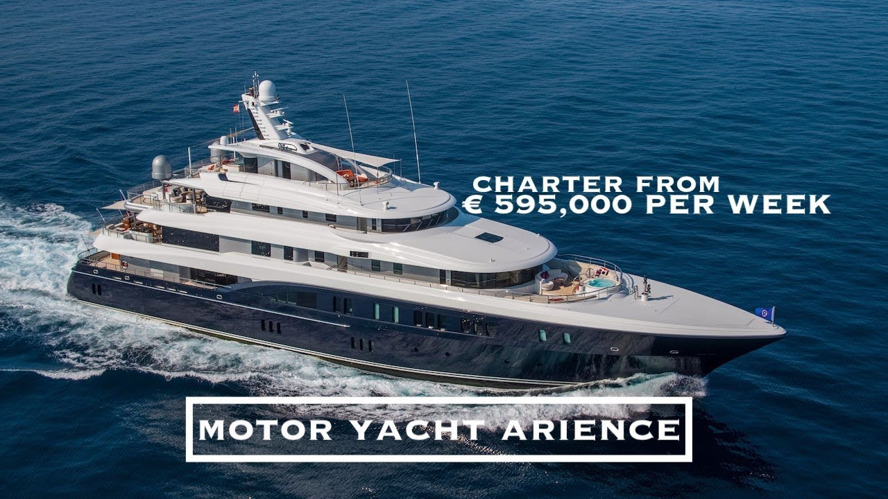 A Job I Could Not Refuse   Motor Yacht Arience