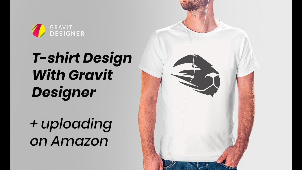 How To Create A Logo For A T Shirt Gravit Designer And Amazon Merch