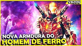 VAZOU A NOVA ARMADURA DO HOMEM DE FERRO EM VINGADORES 4?