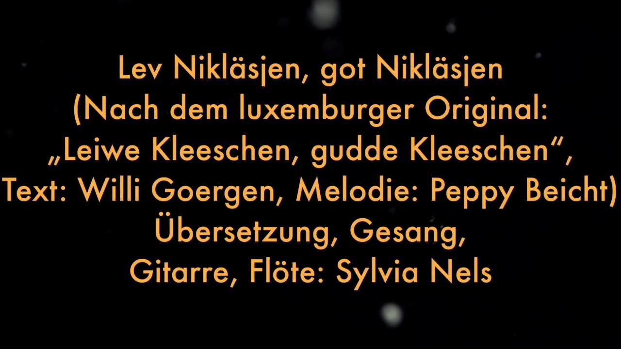 nikolausabend lied