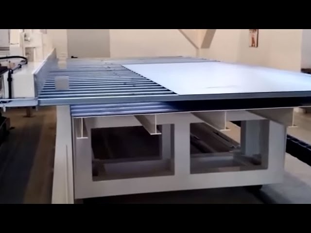 SPECIALE - SCARICO TAGLIO LASER 2D - AUTOMATIC UNLOADING LASER SHEET METAL CUTTING