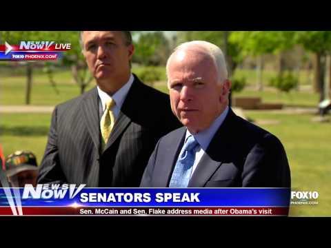 John McCain and Jeff Flake Speak After Obama