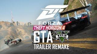 Forza Horizon 4 Trailer Recreated in GTA 5! Forza Theft Auto 4
