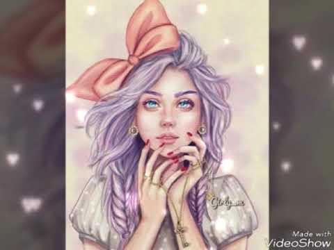 Красивые рисунки девушек))***