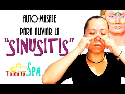 Auto-masaje para aliviar la 'SINUSITIS'/Relieve sinus self-massage