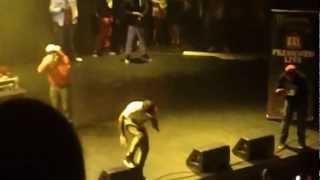 "Kid Ink- ""Stank In My Blunt"", ""I Just Want It All"", and No Sticks No Seeds""(Live) Club Nokia 3/27/12"