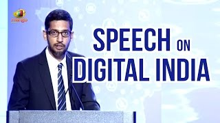 Google CEO Sundar Pichai Speech On Digital India | PM Narendra Modi US Tour | Mango News