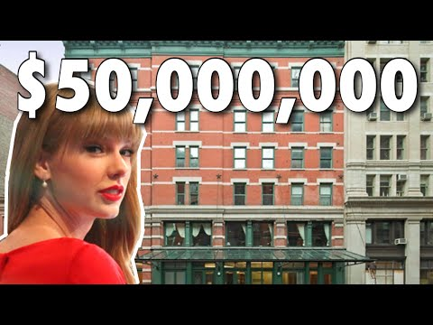 Taylor Swift's $50 Million Tribeca Home | NYC Celebrity Homes