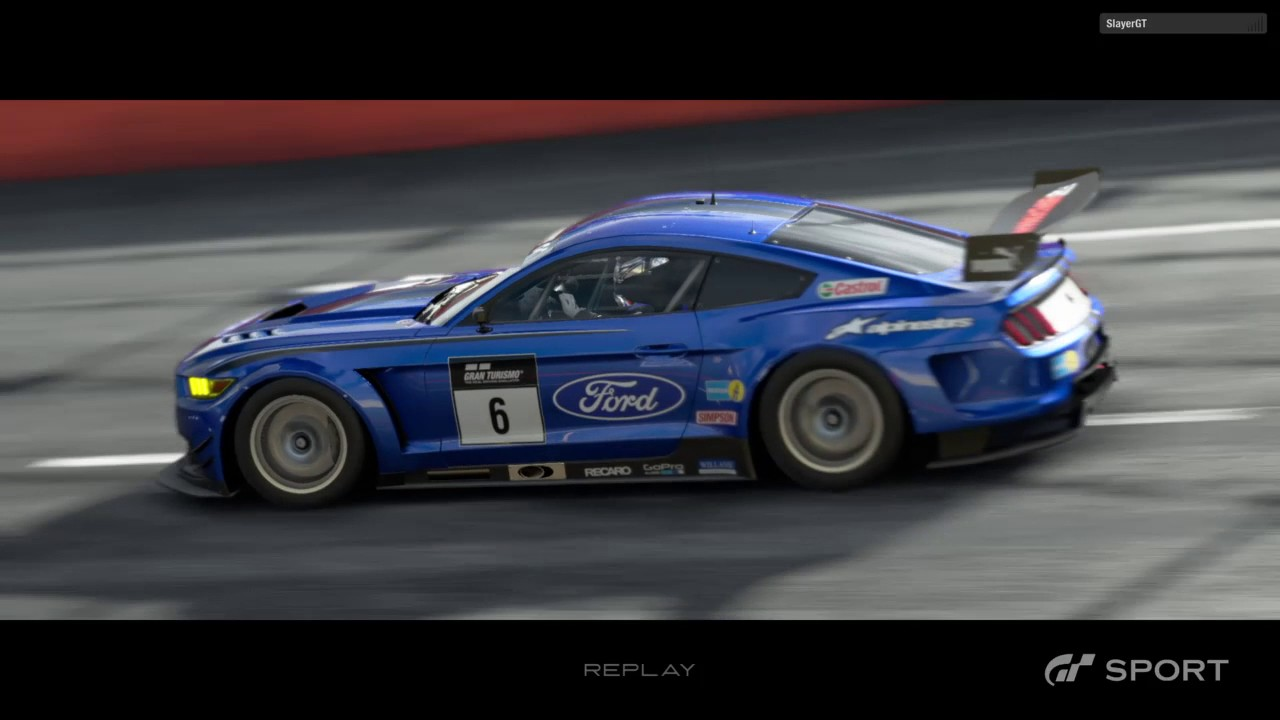 gran turismo sport closed beta test ovaling mustang youtube. Black Bedroom Furniture Sets. Home Design Ideas