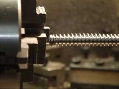 Designing and manufacturing a compression spring