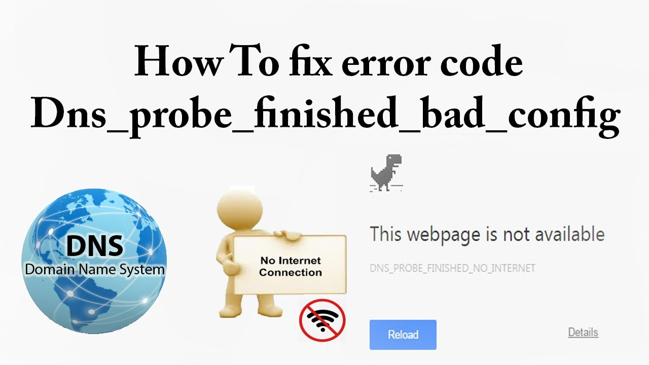 problem dns_probe_finished_bad_config