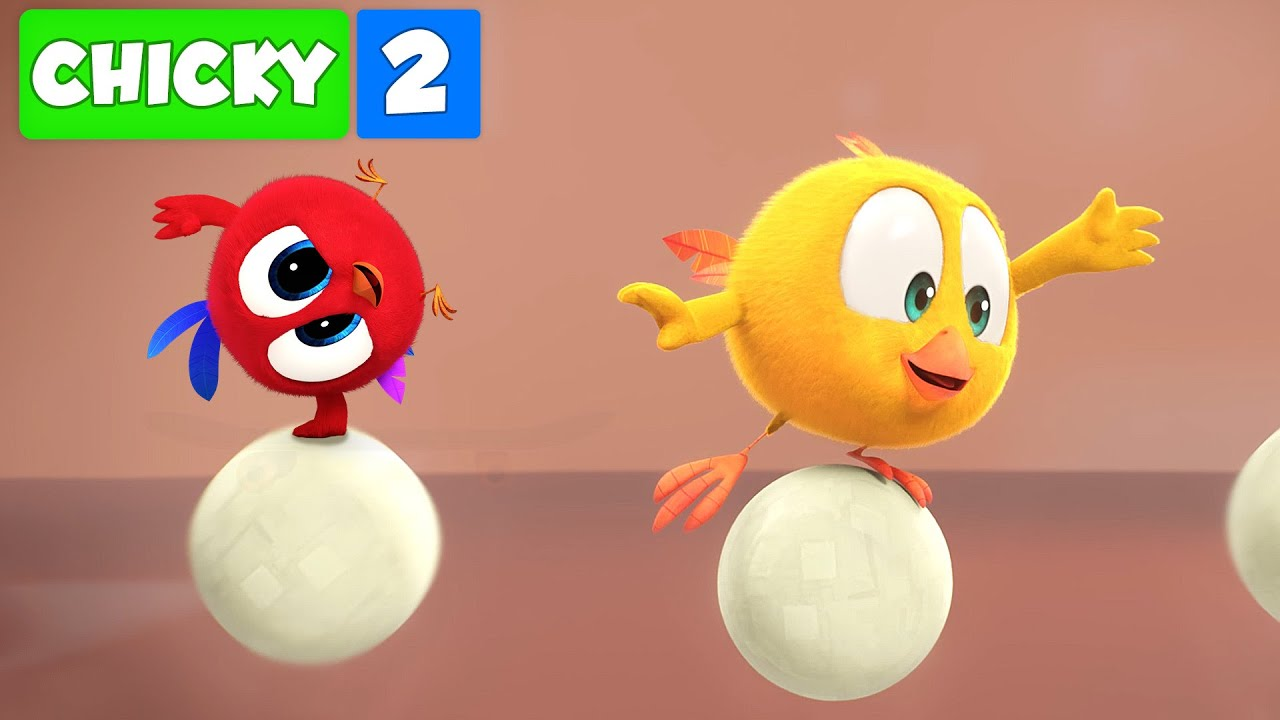 Onde está Chicky? TEMPORADA 2   VOANDO BOLAS   Desenhos Animados Infantil