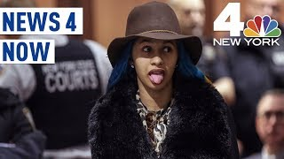 Cardi B Goes to Court, Finds Out About Grammy Noms | News 4 Now