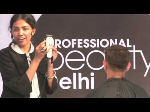 Demo Performance on Hair by Team Wahl by Itty Agarwal at Professional Beauty Delhi 2017