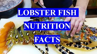 LOBSTER FISH - HEALTH BENEFITS AND NUTRITION FACTS