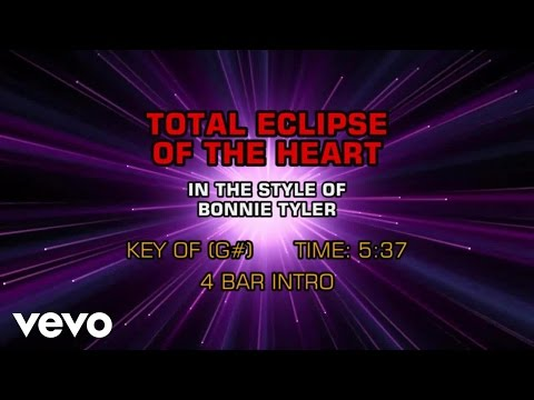 Bonnie Tyler - Total Eclipse Of The Heart (Karaoke)