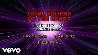 Bonnie Tyler - Total Eclipse Of The Heart (Karaoke)