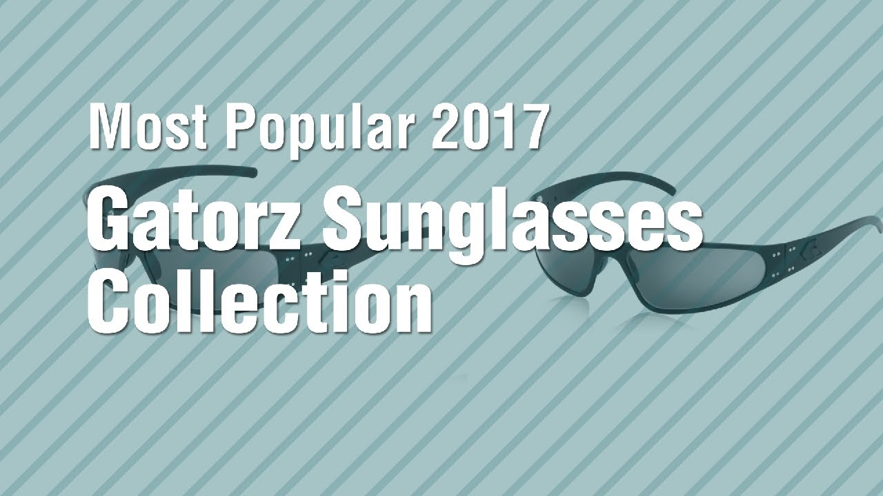 3ccde9c0a6d Gatorz Sunglasses Collection    Most Popular 2017 - YouTube