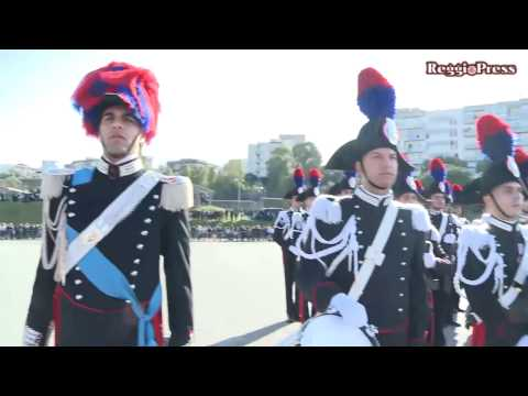 Giuramento allievi carabinieri 135° corso 'MOVM Fortunato Caccamo'