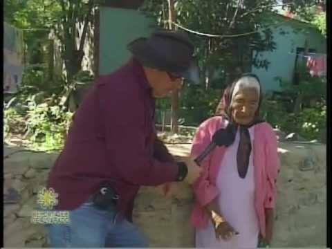 Doña Zenaida Granados de 95 años en Aramberri NL