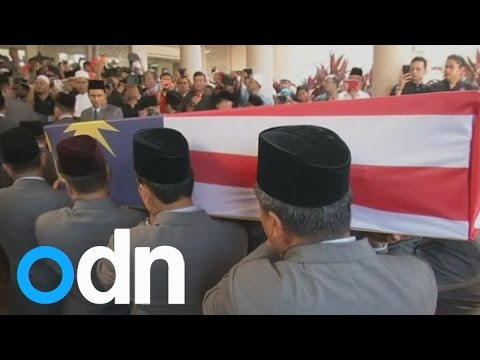 Flight MH17: Chief steward buried with full military honours