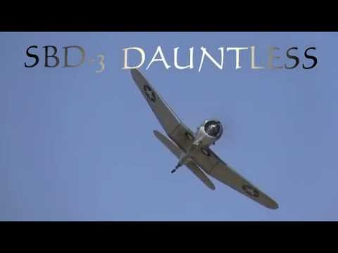 Warbird Minute  Douglas SBD-3 Dauntless Dive-bomber