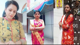 nam eruvar namaku eruvar serial actress  in dubsmash  tiktok videos of serial actors in trends video