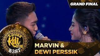 ROMANTIS! MARVIN FT DEWI PERSSIK [CUMA KAMU] - Grand Final KDI 2019 (18/10)