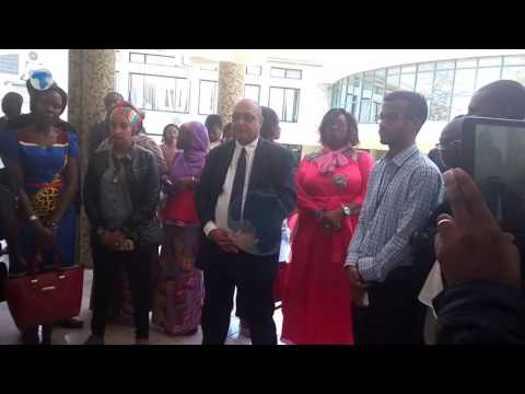 Journalists visit African Court on Human and Peoples' Rights in Arusha