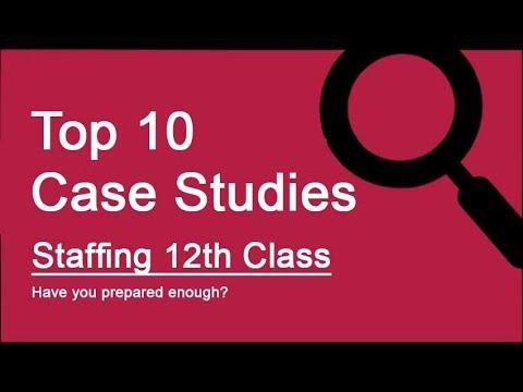 Top 10 Case Studies - Staffing, Class 12 Business Studies