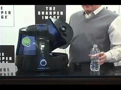 Sharper Image Ultrasonic Uv Humidifier Product Overview Hq Youtube