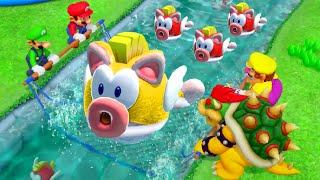 Super Mario Party - All Minigames (Luigi vs Master CPU)