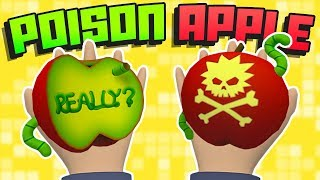 WOULD YOU EAT THIS *SECRET* POISON APPLE?! || Rick and Morty: Virtual Rick-ality VR Gameplay