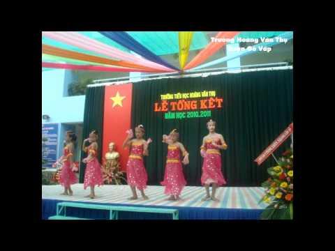 Trường Hoàng Văn Thụ - Múa: Về quê cũ.wmv