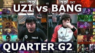 SKT T1 Bang NA SoloQ - When BANG Plays CAITLYN AD Carry | SKT T1 Replays SKT T1 Bang Highlights : Bae