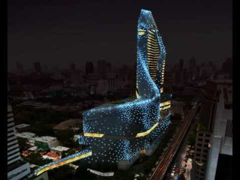 Thailand Central Embassy Architectural Lighting Concept