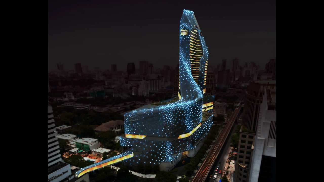 ee8f2a3ee2f01 Thailand Central Embassy Architectural Lighting Concept - YouTube