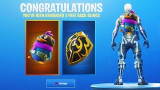 How to Get PENGUIN & GOLD SHIELD Free BACKBLING Rewards! (Fortnite Battle Royale)