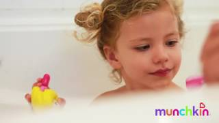 Munchkin Bath Time Video with Tammin and Phoenix!