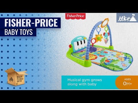 Save On Fisher-Price Activity Alligator, New-Born Sensory Soft Toy And More | UK Early Black Friday