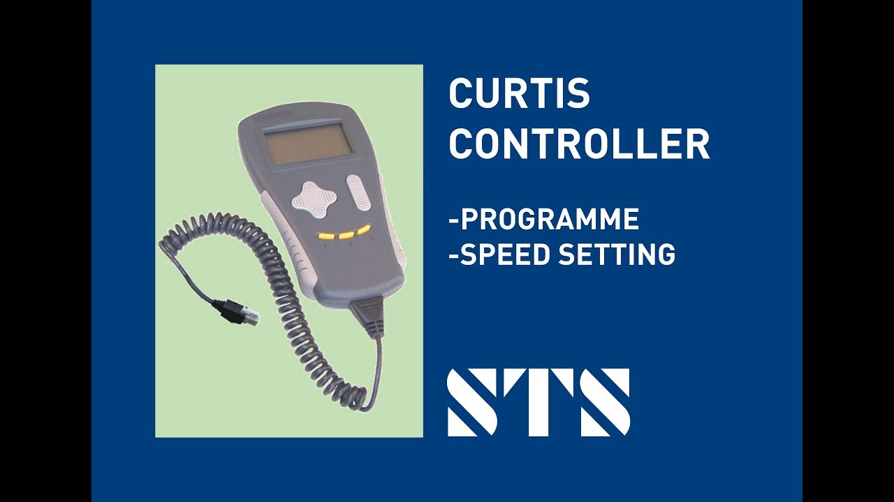 STS - Curtis Controller (Adjust Speed Setting)